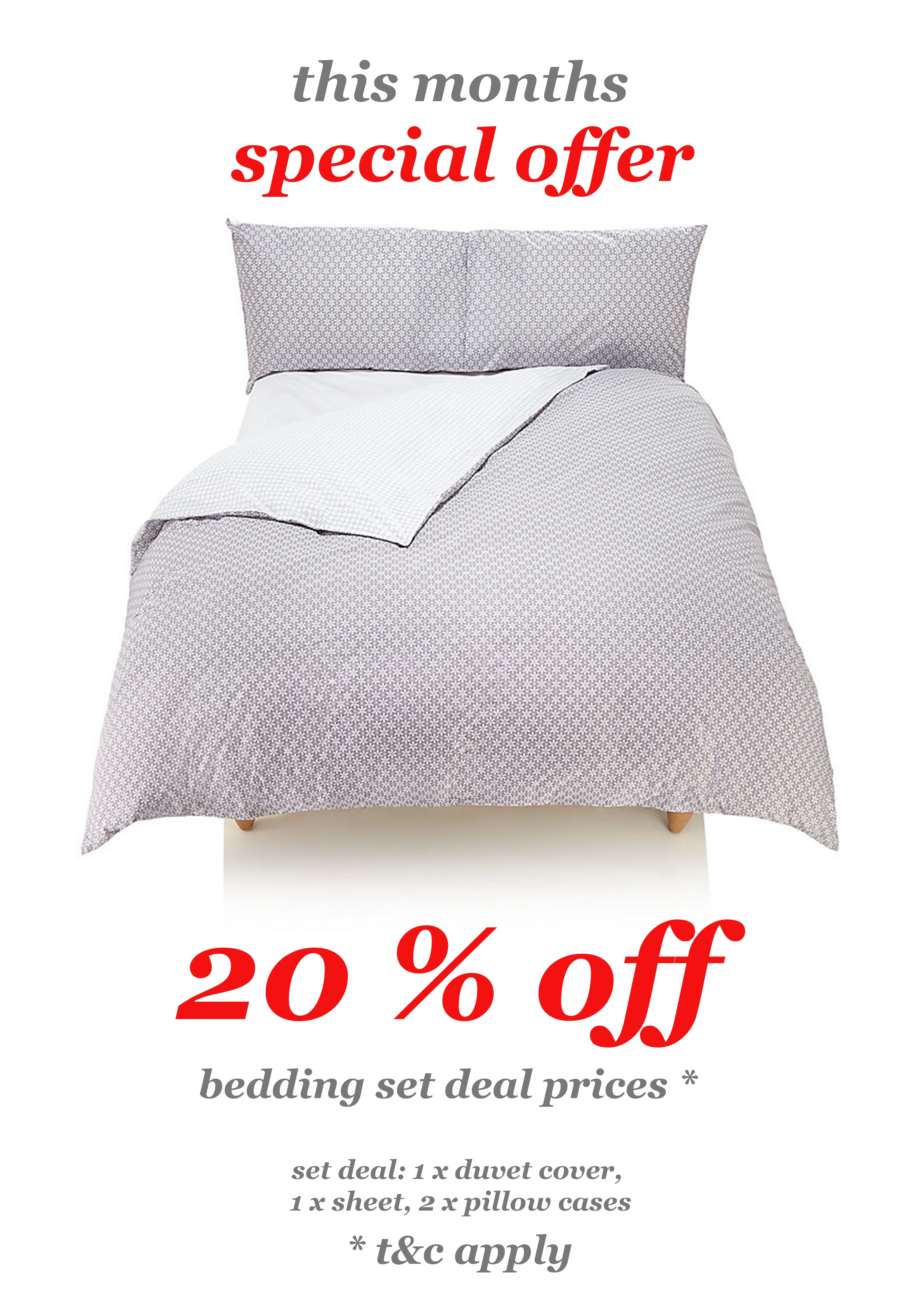 Special Offers - Bedding